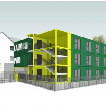 modular accommodation, LaunchPad,