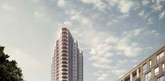 Tottenham Hale tower, façade, Staticus,