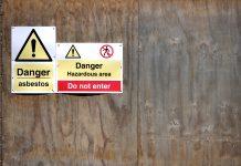 Containing asbestos