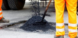 road maintenance, pothole,