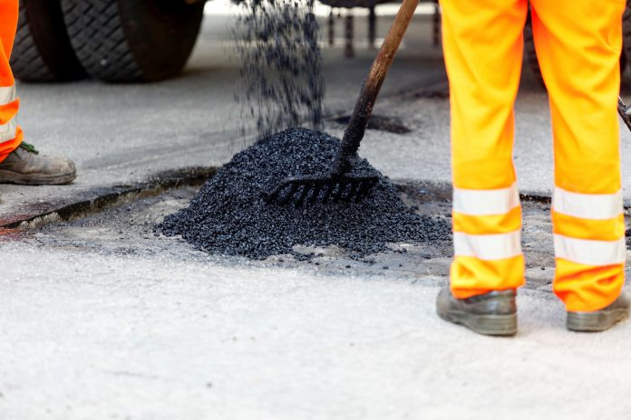 road maintenance, pothole,