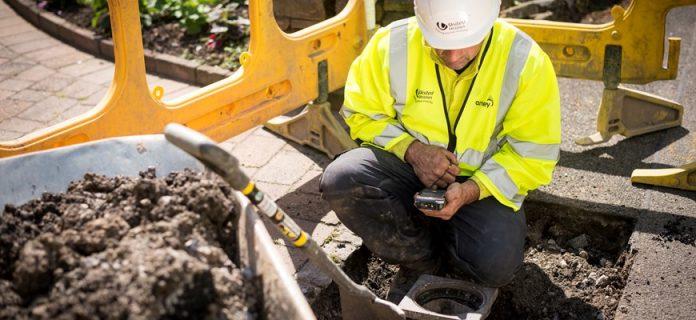streetwork excavations, 2020 Challenge, Amey Utilities,
