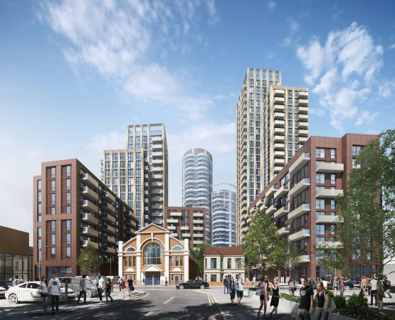 Barking Town, Be First, McLaren Construction,