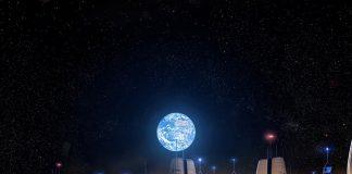 moon village, ESA,