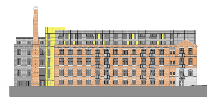 Fusion Building Systems, Morley Street Mill, Offsite Construction, superstructure, renovation,