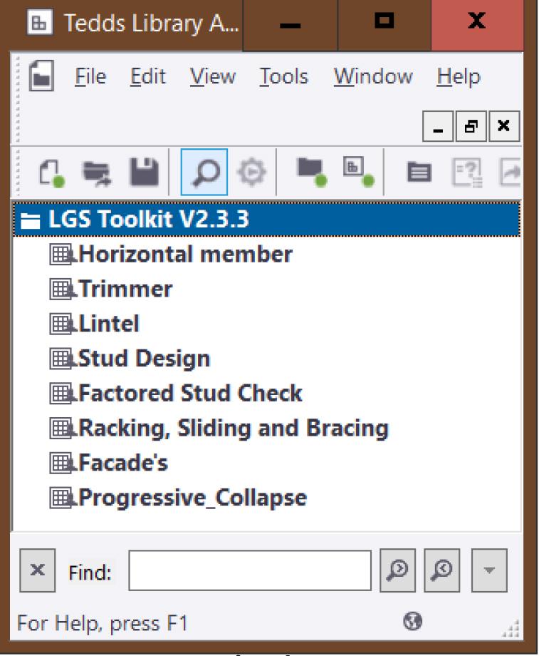 Light Gauge Steel Software