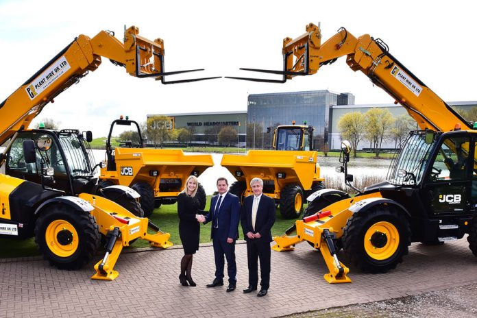 construction machinery, JCB, plant hire uk,