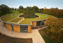green roof, london,