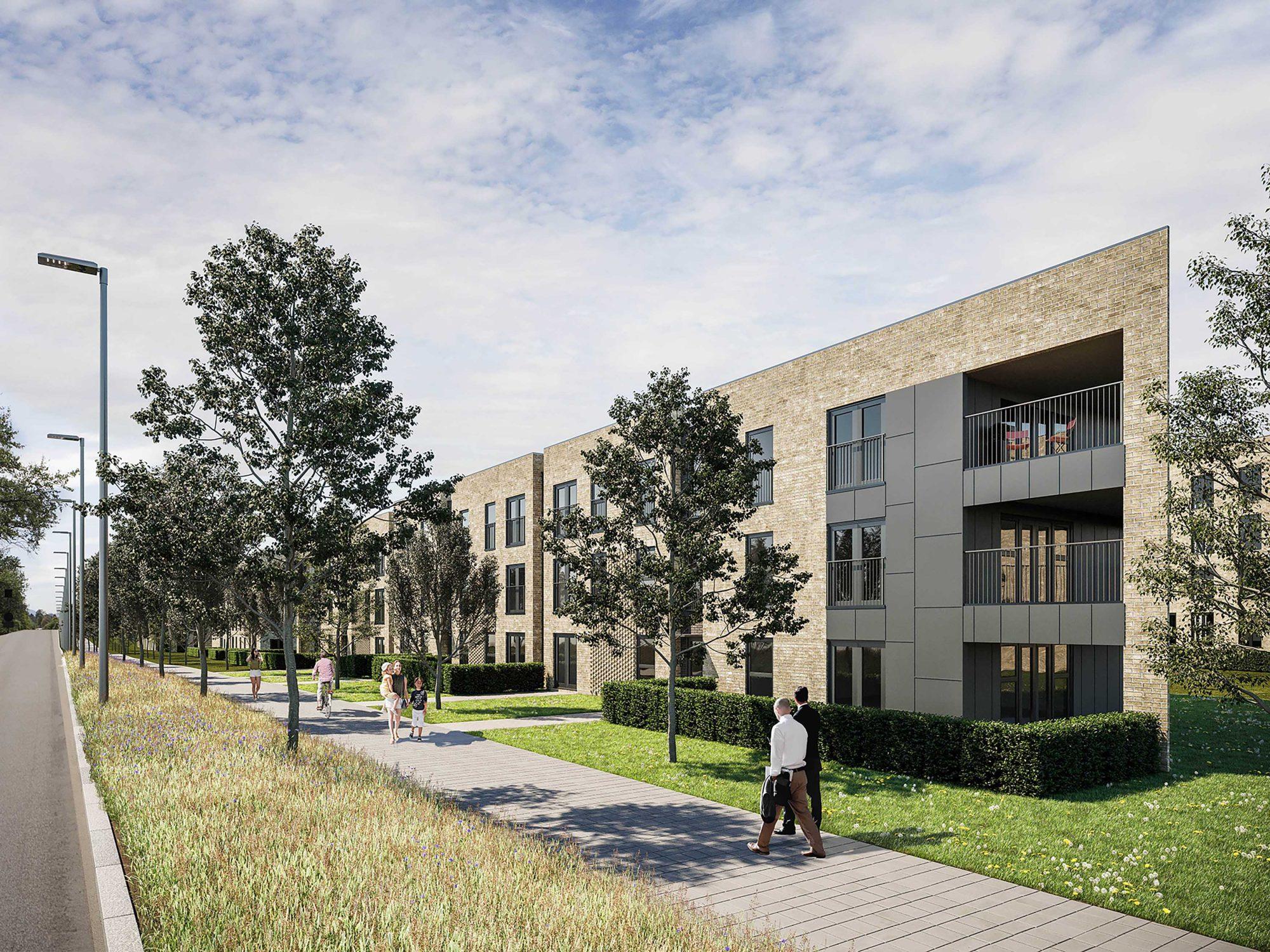 Housing development, Affordable homes, Cammo Estate