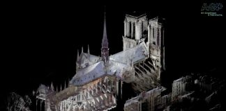 3d digital mapping, Focus S Laser Scanner, Notre Dame,