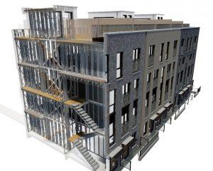 Light steel framing, BIM, Steel Construction Institute,