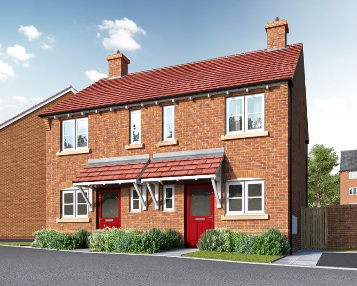 Family homes, Lovell, build to rent