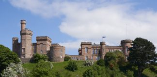 Inverness Castle project,