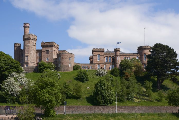 Inverness Castle project,
