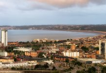 dragon energy island, swansea bay, modular homes,