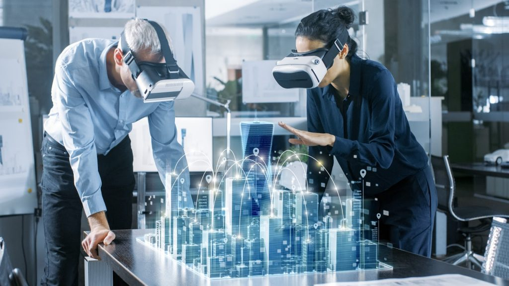 VR in construction,