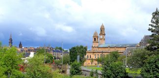 Paisley Town Hall, Kier, heritage contract