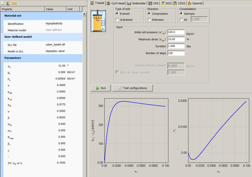 geotechnical design, parameter determination, numerical analysis,