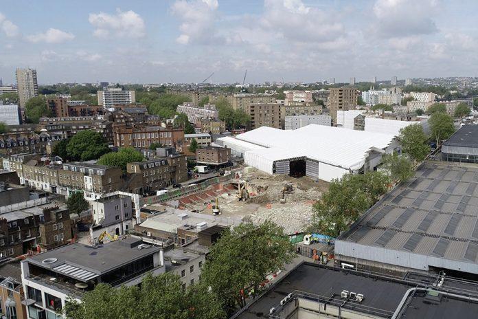 HS2, London Euston, BHS warehouse, Demolition