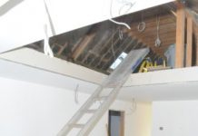 unprotected stairwell, HSE, self-employed contractor