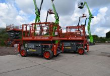 Star Platforms, fleet, Niftylift Height Rider, Skyjack SJ46AJ