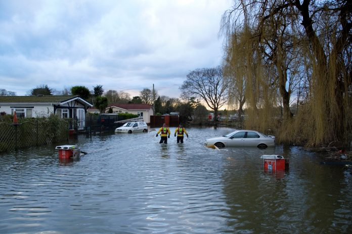 flood defences,
