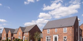 New properties, Upton Park, Northampton's South West District,