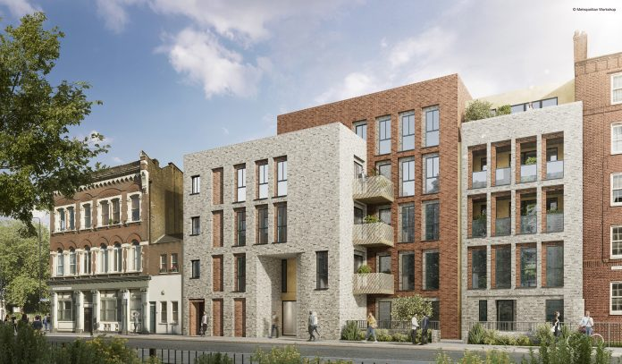 infill site, Thomas Sinden, Poplar Harca, new homes,