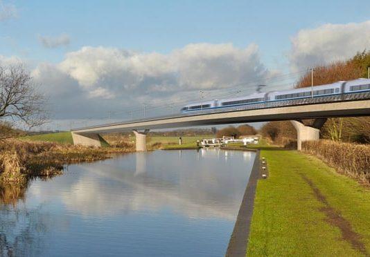 High-speed railway, HS2,