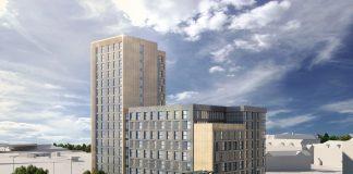 the landmark building, developers, Derby,
