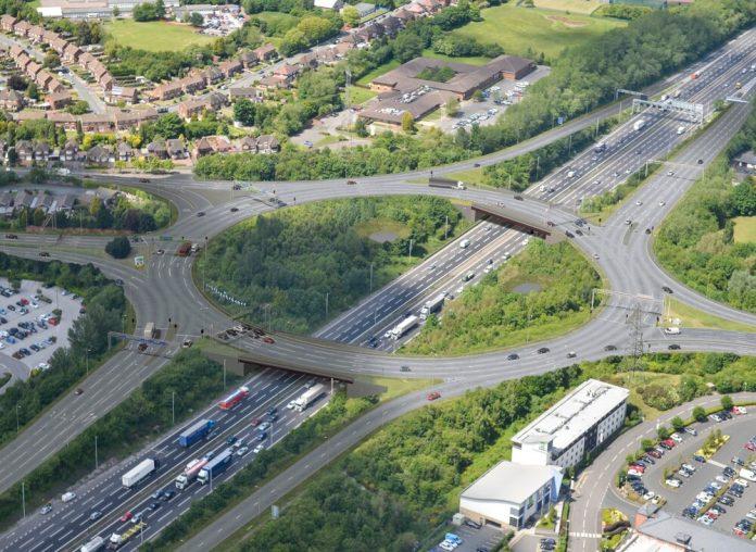 new M6 junction, John Sisk,