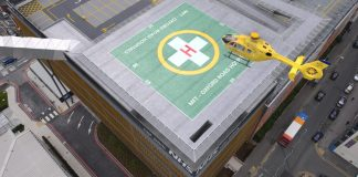Helipad, Manchester University Foundation Trust, HELP Appeal