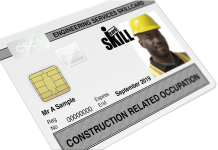 CRO card, Fire Sprinkler Installer,