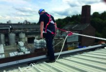 working at height,