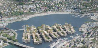 Store Lungegårdsvannet Lake, zero carbon community,