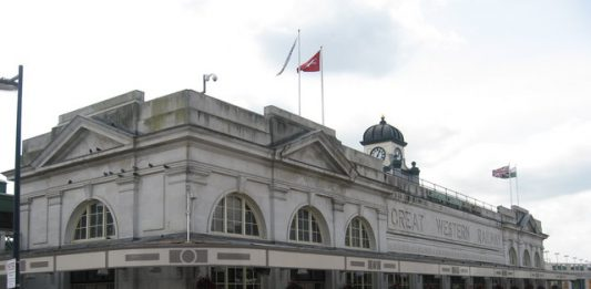 Cardiff Central Station,
