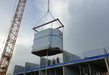 Offsite construction, lifting equipment, Britlift,