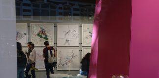 MEDITE PREMIER, Contemporary Cartography Exhibition, wood panel,