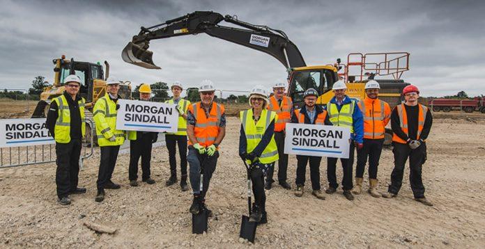 New school, Morgan Sindall,
