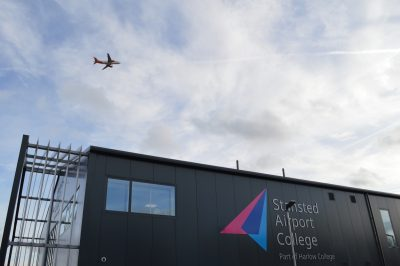 Secondary Glazing at Stanstead Airport College