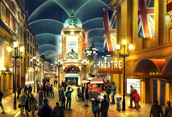 London Resort, Radisson Hotel,