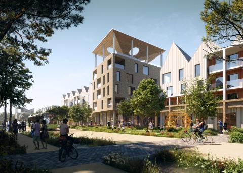 modular homes, Northstowe,