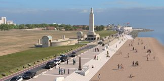 Southsea Coastal scheme, flood defence,
