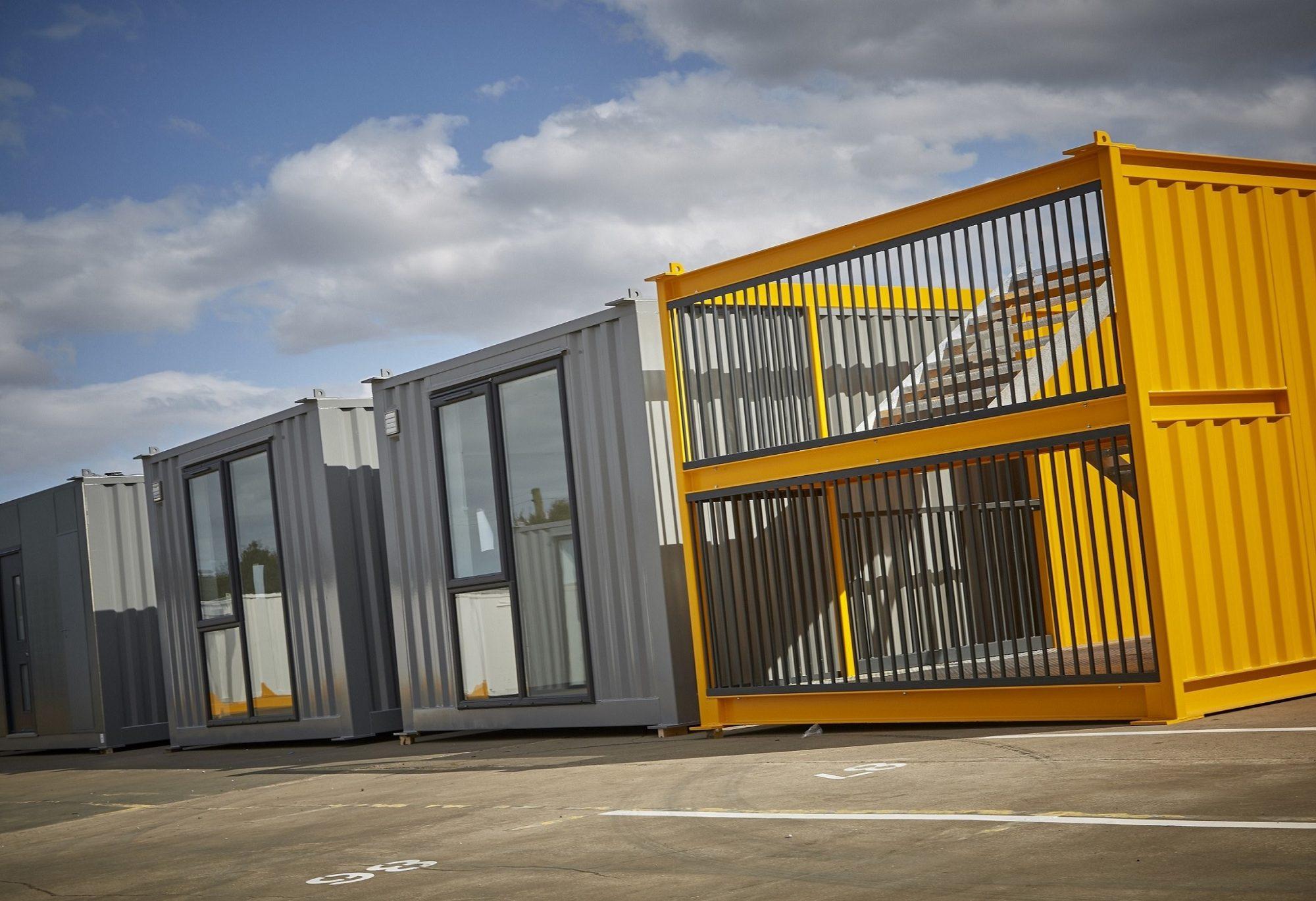 modular apartments, Integra Buildings,