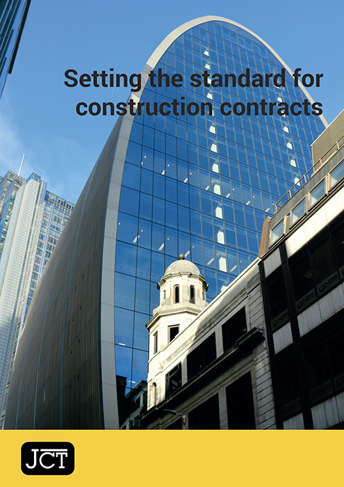 Setting the standard for construction contracts
