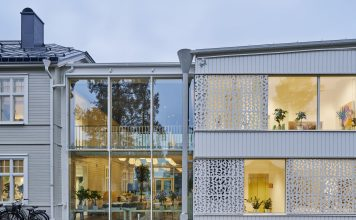 Swedish recovery centre uses sustainable timber construction panels,