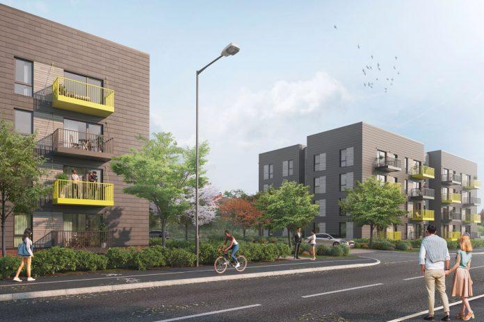 offsite housing, BoKlok,