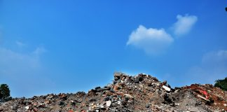 waste in construction,