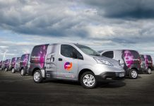 electric vans, mitie