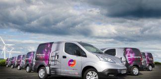 electric vans, mitie